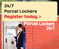 Choice, convenience and flexibility when collecting your parcels - Australia Post's 24/7 Parcel Lockers. Find out more