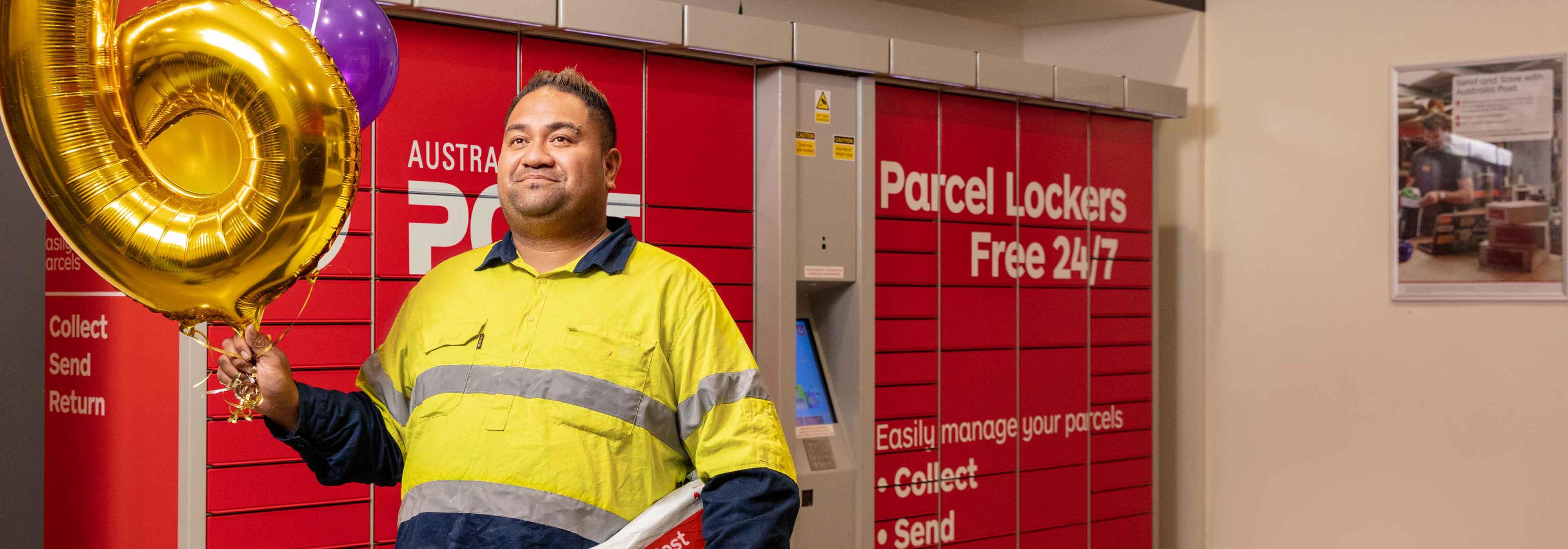 Use a 24/7 Parcel Locker - Australia Post