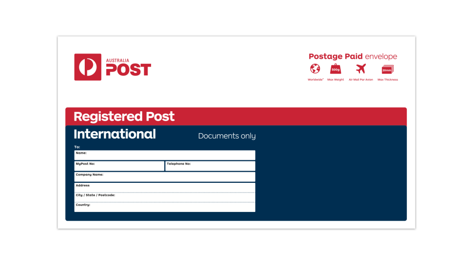 Find out what it will cost to send your item around New Zealand or across the world. You can then pay for the postage, print out the label and post in a posting box or over the counter at your local PostShop.