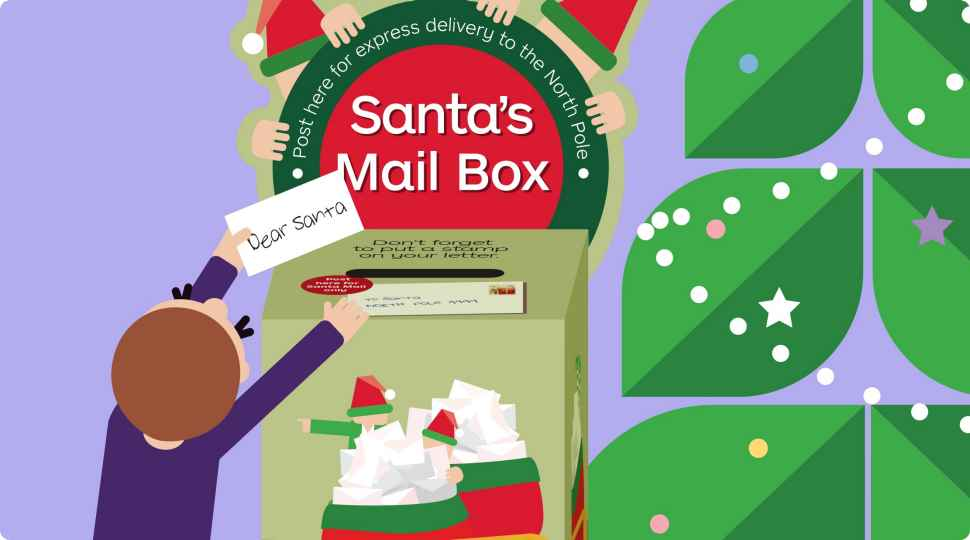 Santa mail australia post spiritdancerdesigns Image collections