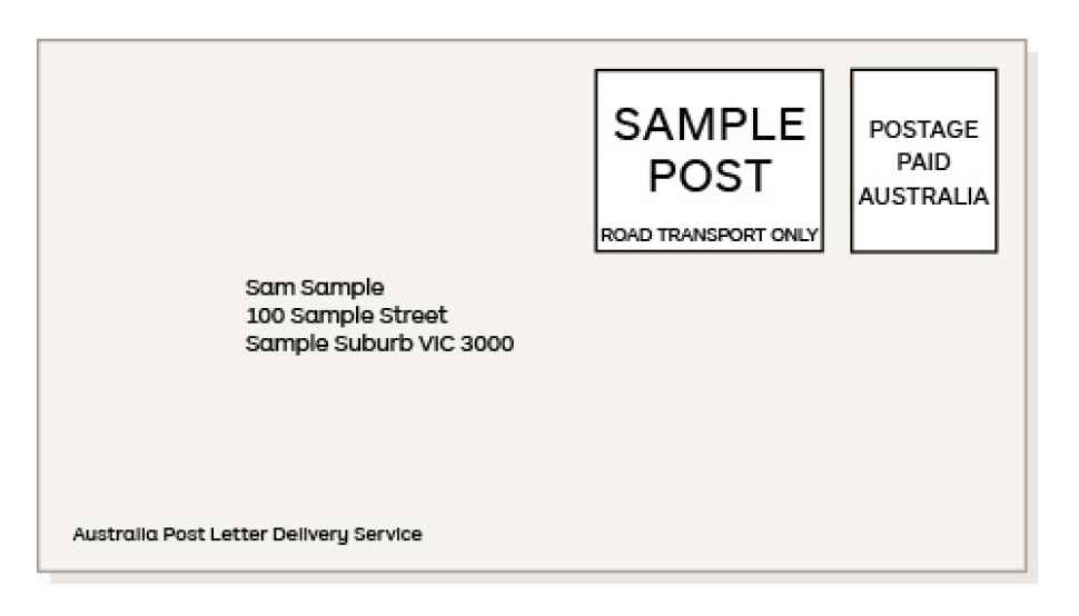 sample post australia post