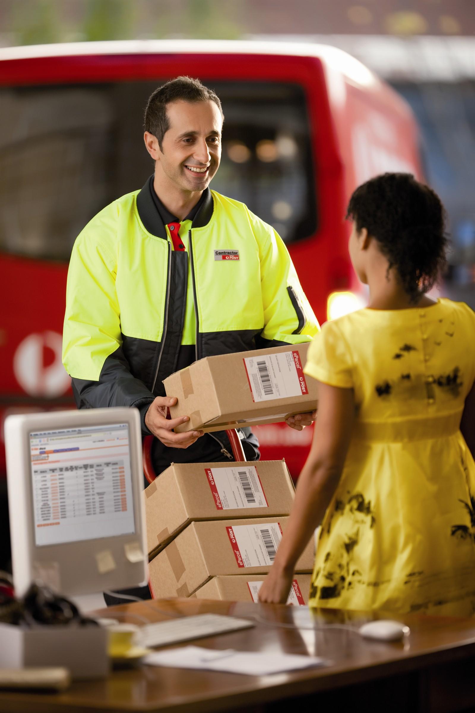 parcels mail sending australia