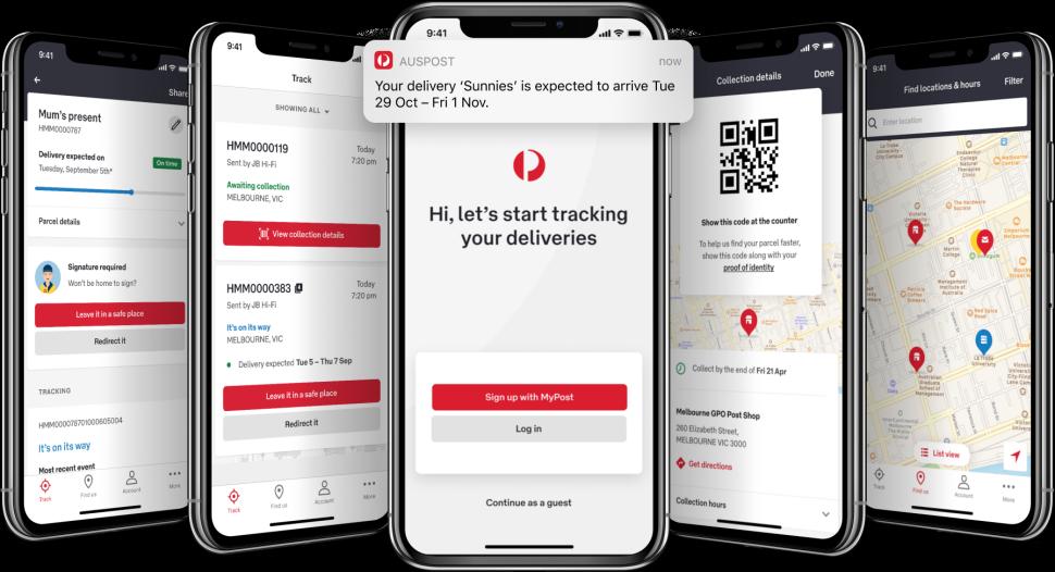 Australia post tracking not updating boundaries in dating pdf