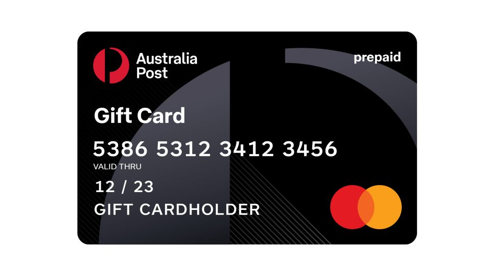 Buy Gift Cards Australia Post