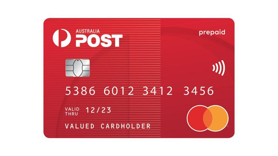 Ebay Mastercard Login >> Australia Post Everyday Mastercard Australia Post