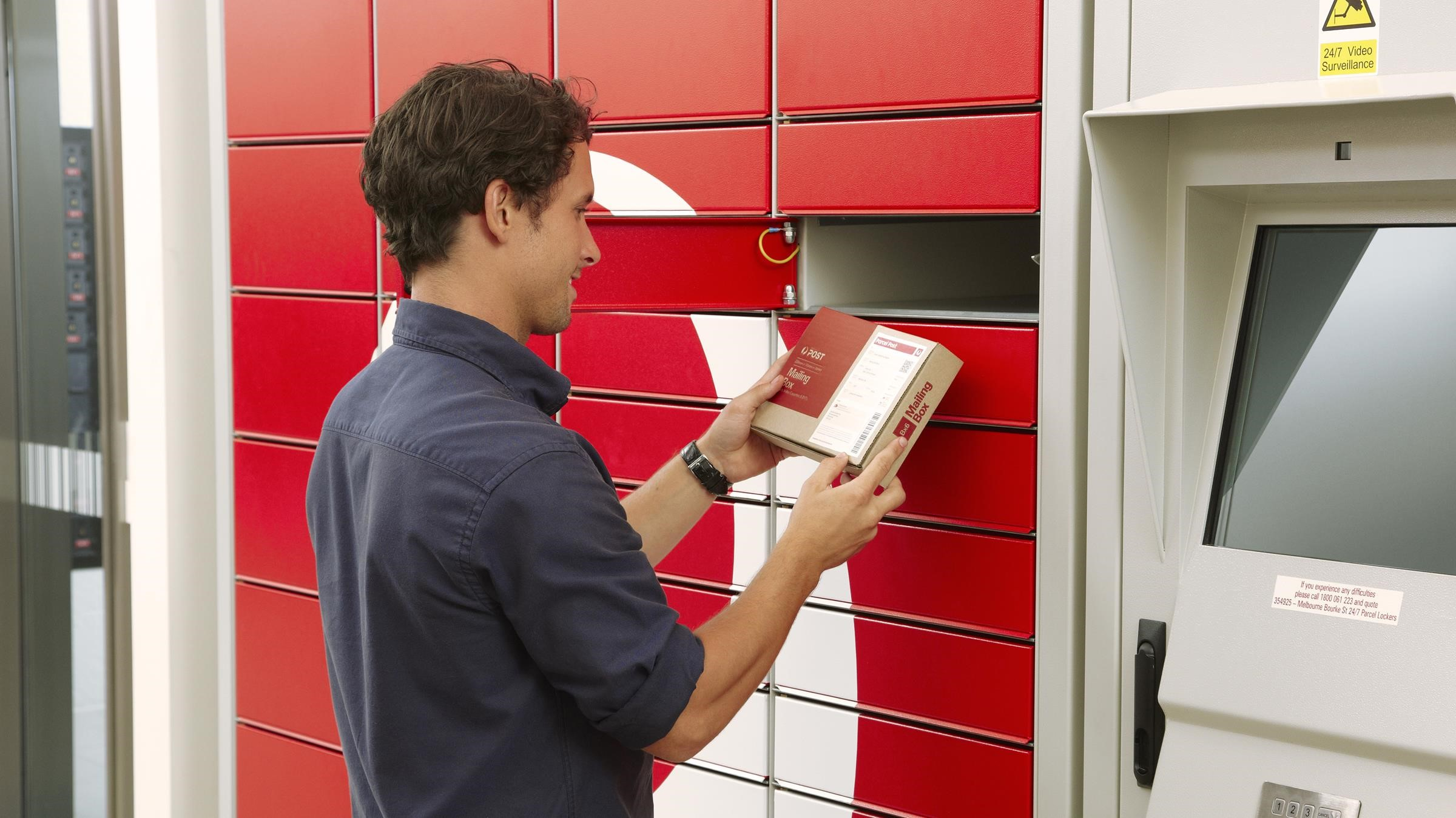 Send a parcel with a 24/7 Parcel Locker - Australia Post
