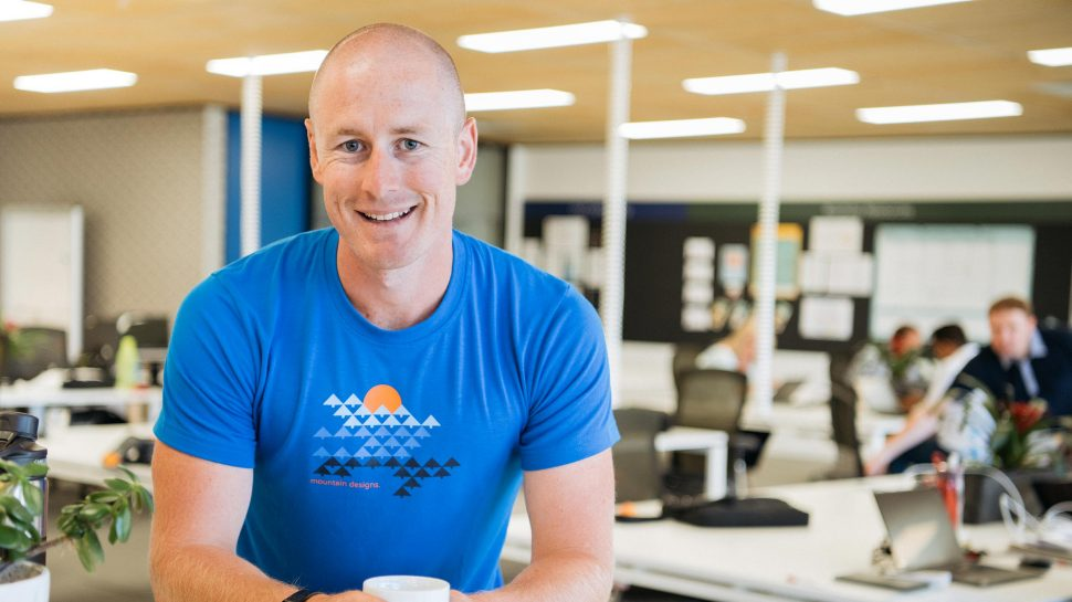 Photo of Raigan Howard standing in the Small Business Hive
