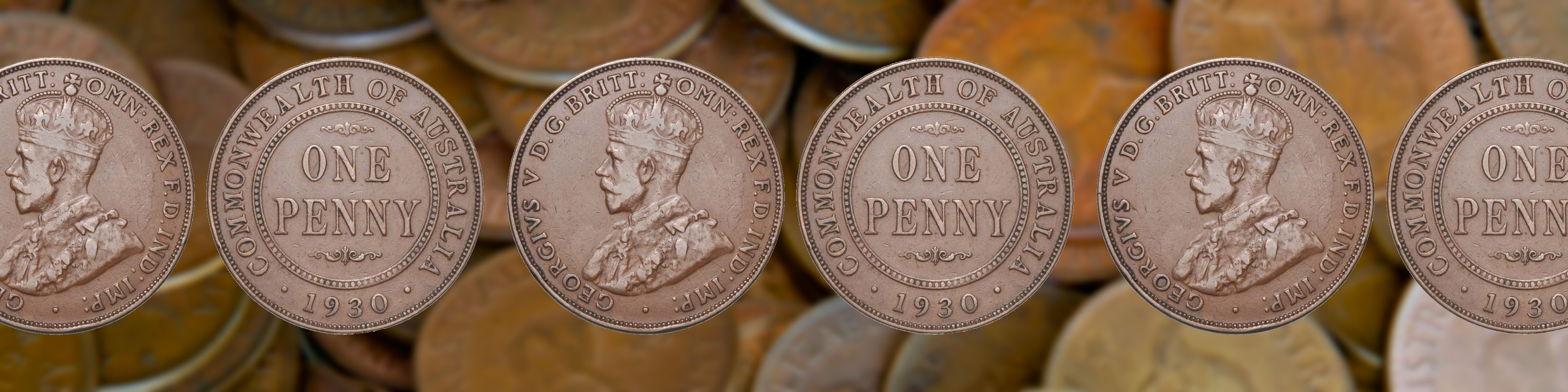 The Famous Australian 1930 Penny - Australia Post