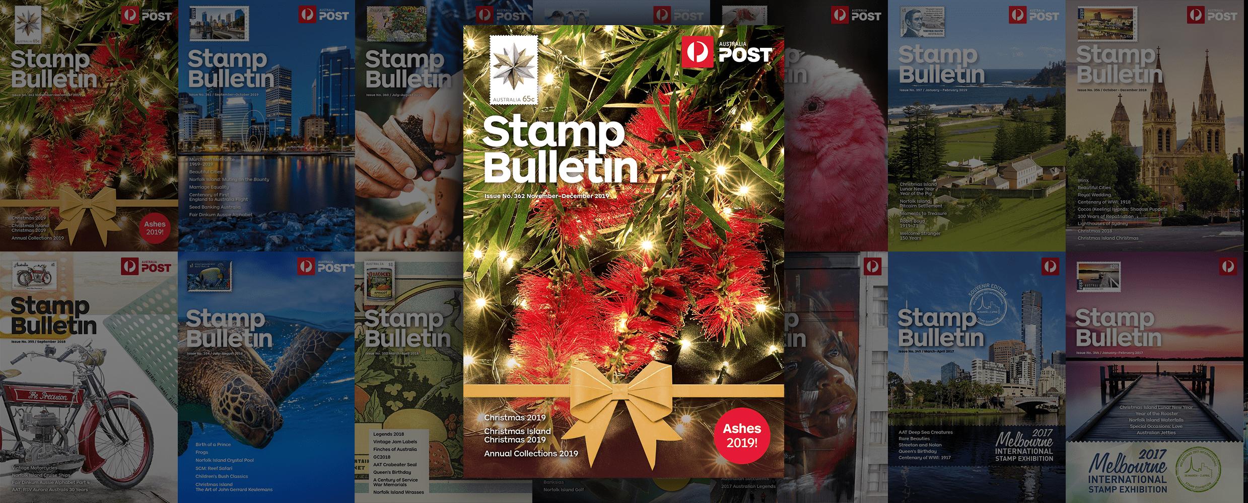 Christmas In Australia Book.Stamp Bulletin 362 Australia Post