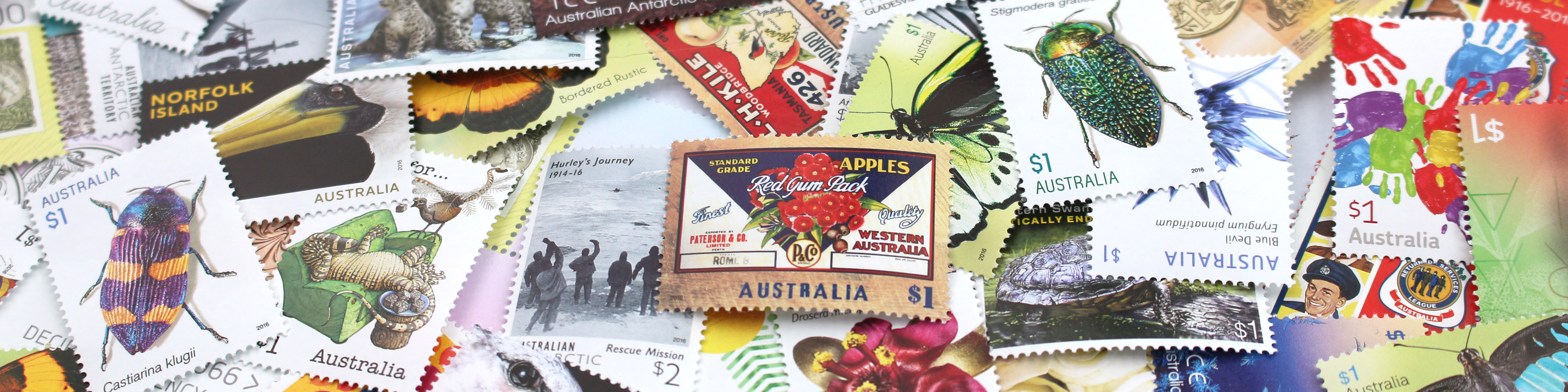 Stamps through time: from 1927 up to now - Australia Post