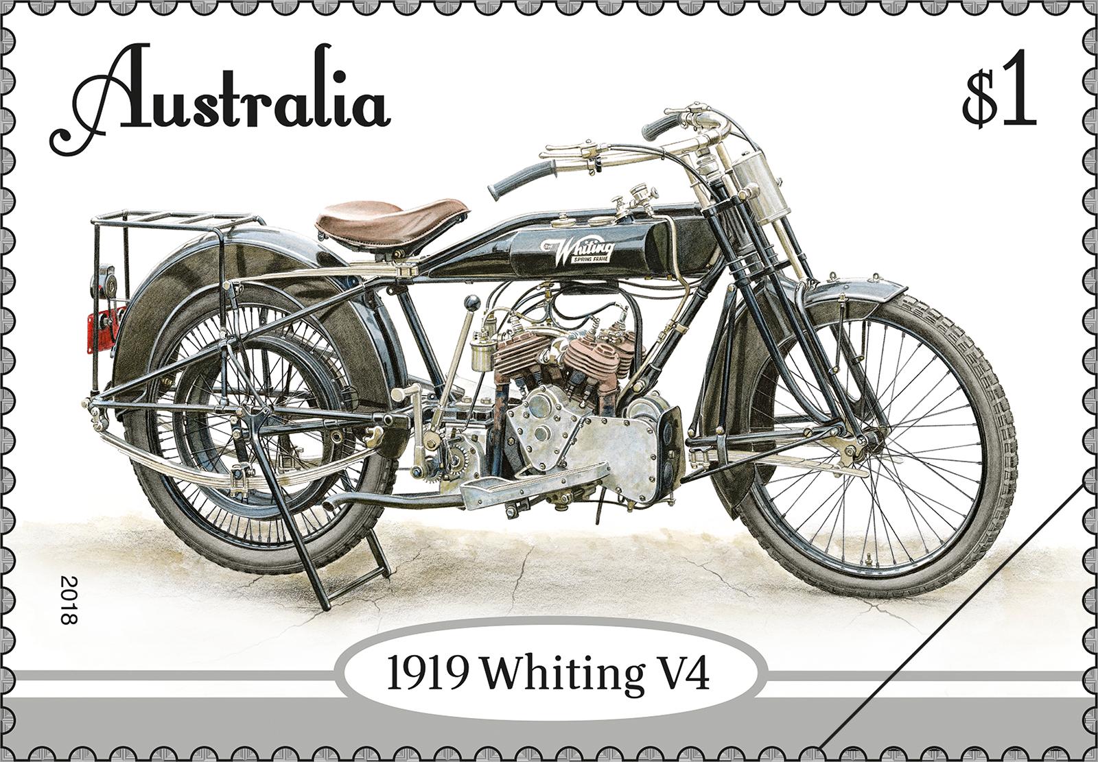 Vintage Motorcycles - Australia Post