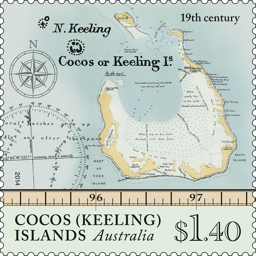 Cocos Island: Cocos (Keeling) Islands: Maps Of Cocos