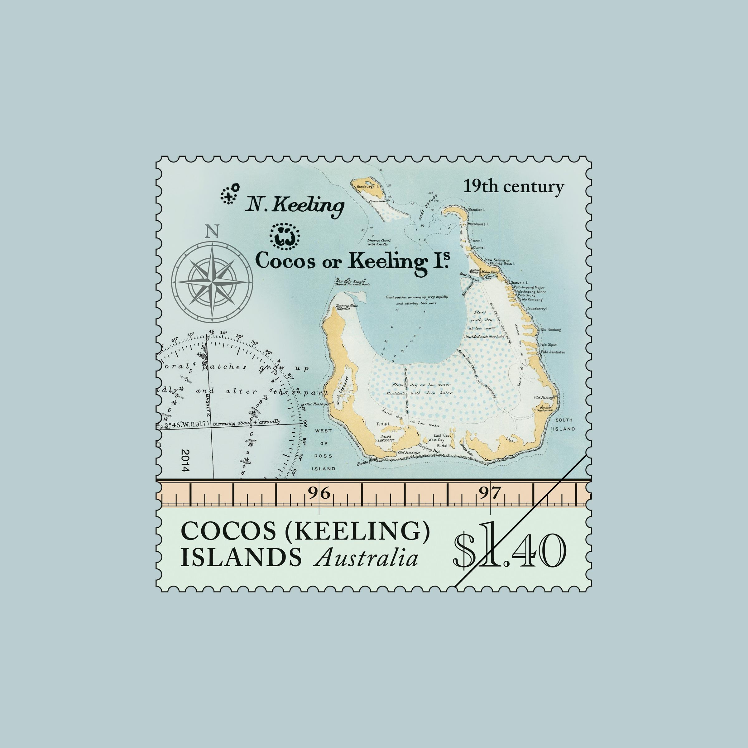 Cocos Island: Cocos (Keeling) Islands: Maps Of Cocos