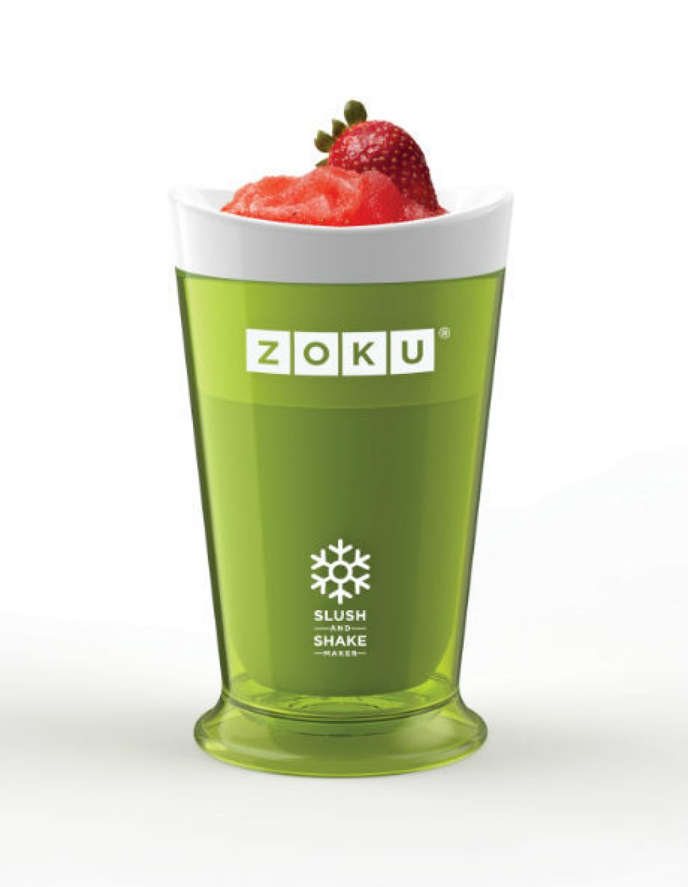 Green Zoku slushie maker