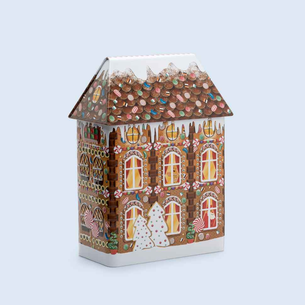 Light-up tin liquorice house from Australia Post's online shop
