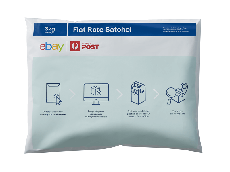 Flat rate satchels