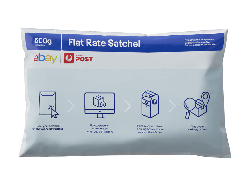 Australia Post Ebay Flat Rate Satchel Small 10 Bag Pk Ebay