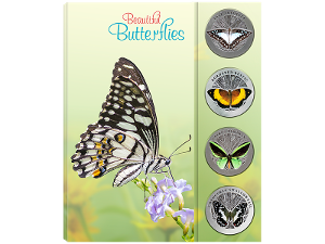 Butterflies medallion collection product photo