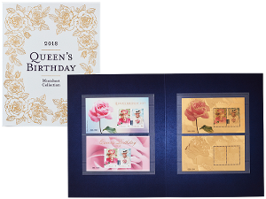 Queen's Birthday minisheet collection product photo