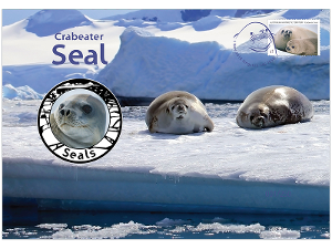 Crabeater Seal prestige medallion cover product photo
