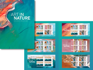 Art in Nature minisheet collection product photo