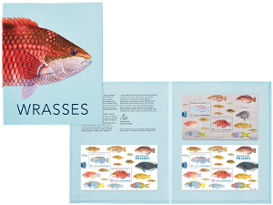 Wrasses minisheet collection product photo