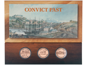 Convict Past minisheet and token set product photo