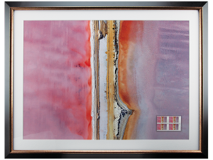 Art in Nature framed print - Lake MacDonnell, SA product photo