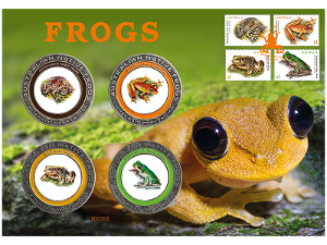 Frogs prestige medallion cover product photo