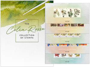 The Celia Rosser collection of stamps product photo