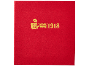 Centenary of WWI: 1918 Gold Minisheet Collection product photo
