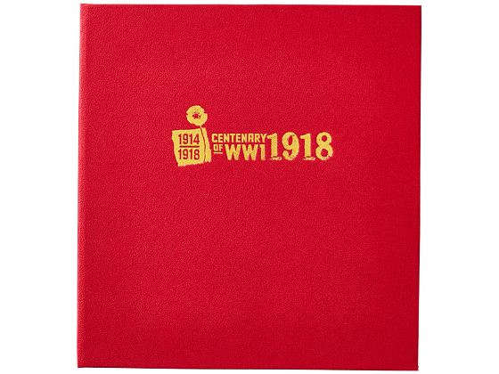 Centenary of WWI: 1918 Gold Minisheet Collection product photo Internal 7 DETAILS