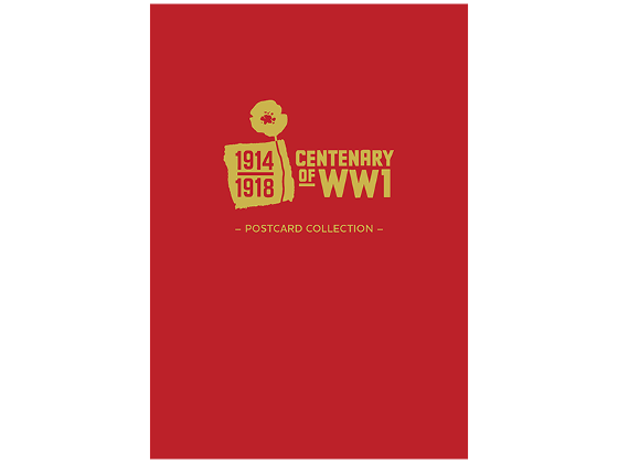 Centenary of WWI postcard collection product photo Internal 4 DETAILS