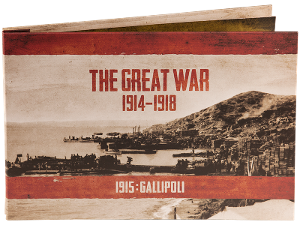 The Great War: 1915 Gallipoli collection product photo