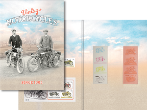 Vintage Motorbikes self-adhesive collection product photo