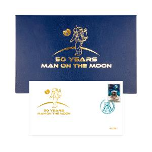 50 Years Moon Landing 3D Stamp Cover product photo