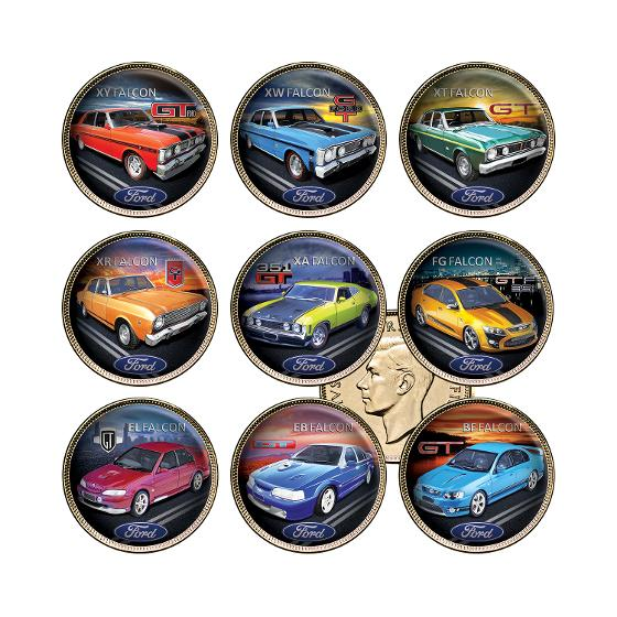Ford GT Gold-plated Enamel Penny Collection product photo Internal 1 DETAILS