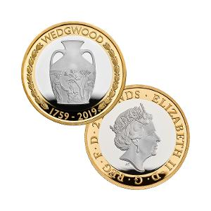 Wedgwood 2019 £2 Silver Proof Coin product photo