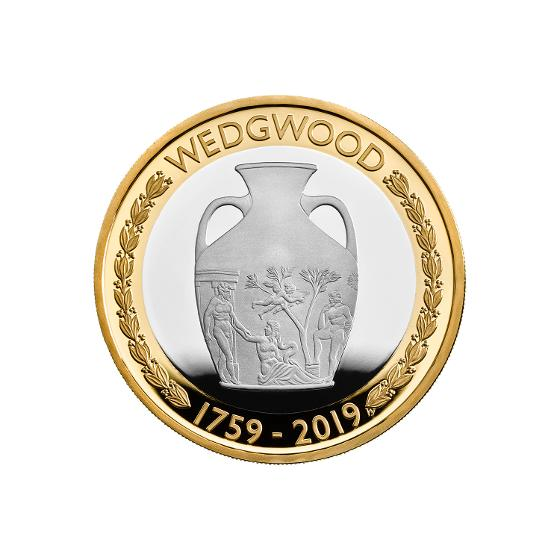 Wedgwood 2019 £2 Silver Proof Coin product photo Internal 2 DETAILS