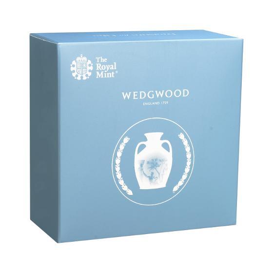 Wedgwood 2019 £2 Silver Proof Coin product photo Internal 4 DETAILS