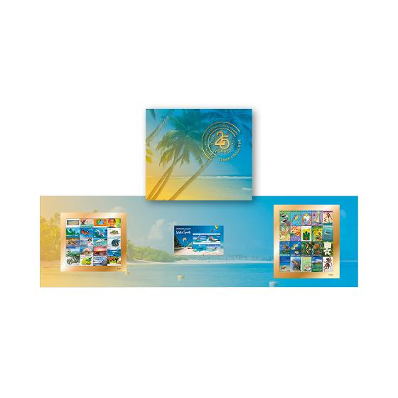25 Years of Australia Post Cocos (Keeling) Islands Stamp Collection product photo Internal 1 DETAILS