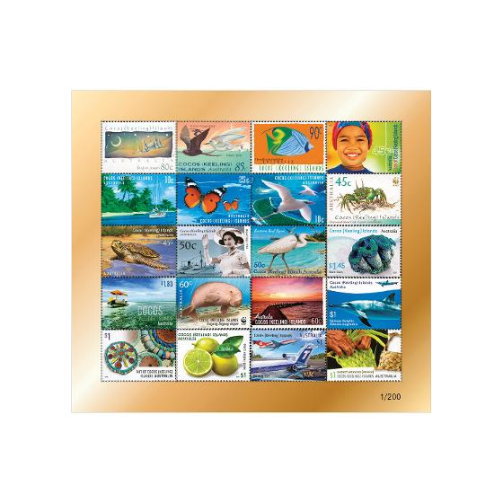 25 Years of Australia Post Cocos (Keeling) Islands Stamp Collection product photo Internal 3 DETAILS