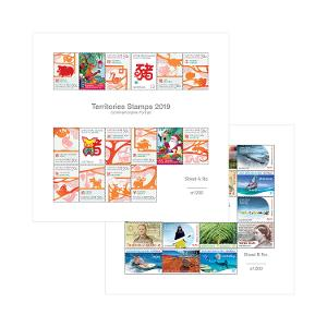 Australian Territories 2019 Multisheet Collection product photo