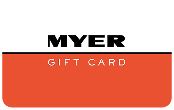 $50 Myer Gift Card product photo Internal 1 DETAILS