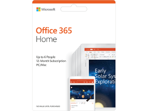 Microsoft Office 365 Home product photo