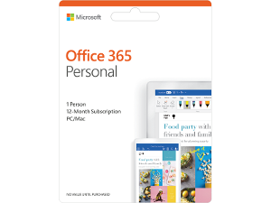 Microsoft Office 365 Personal product photo
