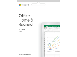 Microsoft Office Home and Business 2019 product photo