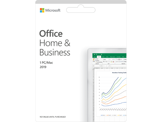 Microsoft Office Home and Business 2019 product photo Internal 1 DETAILS