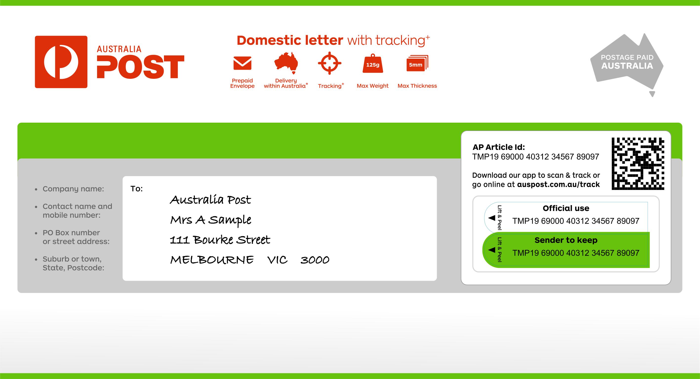 Australia Post Tracking