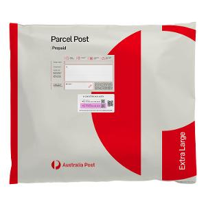 Parcel Post Extra Large Satchel - 10 pack product photo